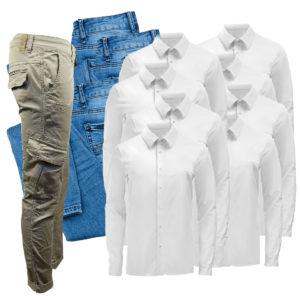 pantaloni e camicie